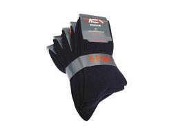 Herren Freizeit Socken 5er Pack, schwarz