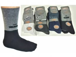 Thermosocken Herren Jeans 4 Farben ass..