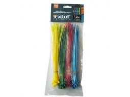 Kabelbinder 150x2.5mm 100Stck. farbig ..