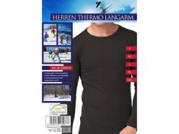 Herren Thermo Unterhemd Langarm gra/e..