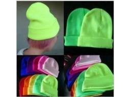 Mütze Unisex ass. viele Farben, Acryl