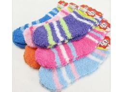 Kinder Kuschel Socken ass. 70% Baumwolle