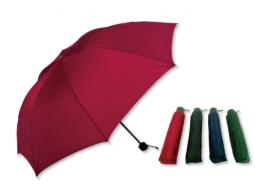 Schirm Taschenschirme, uni 4 Farben ass