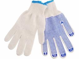 Arbeits Handschuhe Baumwolle mit Noppe..