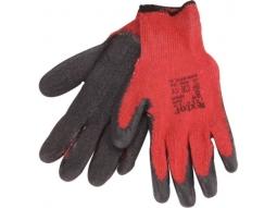 Arbeits Handschuhe Baumwolle mit Latex..