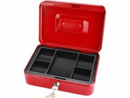 Metall Kasse 250x180x90mm 2 Schlüssel ..