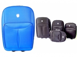 Kofferset weich 4tlg. Blau 20,24,28,32..