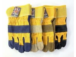 Arbeits Handschuhe Leder 27cm eine Grösse