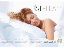 Stella Kopfkissen 65x100cm weiss Synthetik