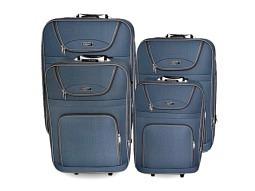 Kofferset weich 4tlg. Grau  20,24,28,32 inch